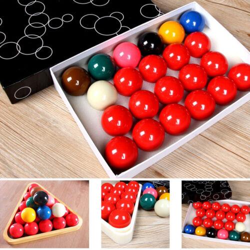 "Snooker Ball UK STOCK 2-1//16/"" SNOOKER 22 BALL SET Standard Size"