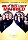 Why DID I Get Married 0031398222286 With Tyler Perry DVD Region 1