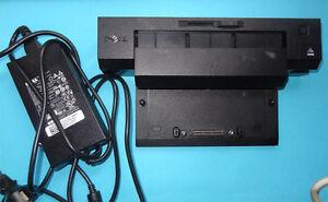Docking Station Dell Latitude e7240 e7440 e5420 2 x DVI VGA USB 3.0 Netzteil