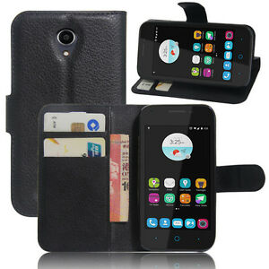 best website 8624e 8c12a Details about Telstra 4GX Smart/ZTE A112 Wallet Folio Stand Card Holder  Case Cover For 4GX Sma