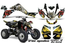 Suzuki LTZ 400 AMR Racing Graphic Kit Wrap Quad Decals ATV 2009-2012 IRON MAIDEN