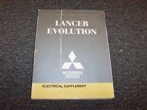 2008 Mitsubishi Lancer Evolution Evo Electrical Wiring ...