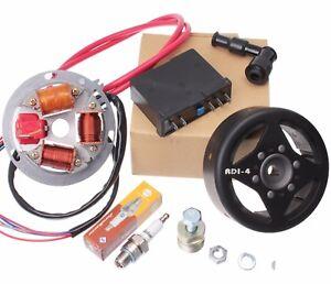 Zuendung-Elektronik-6V-35W-Grundplatte-Steuerteil-Schwungscheibe-fuer-Simson-S51
