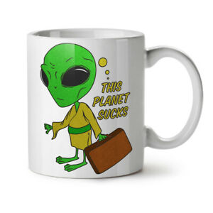 Other Planet NEW White Tea Coffee Mug 11 oz | Wellcoda