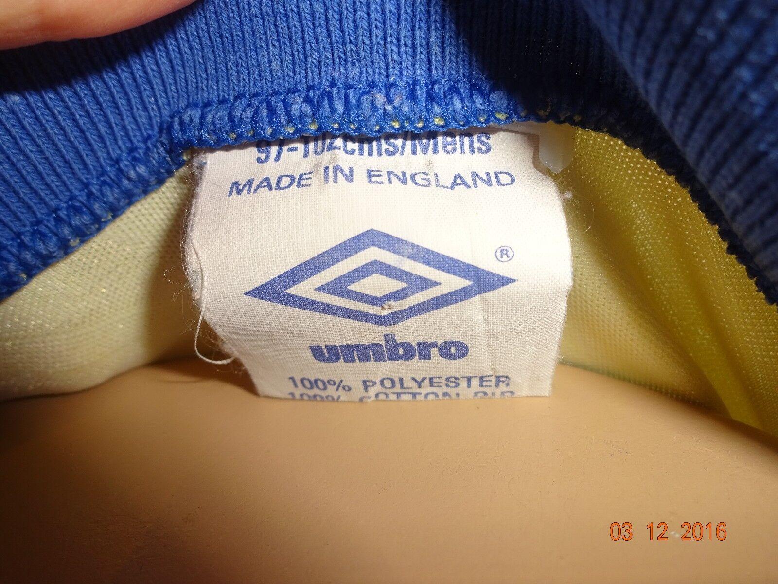 Everton Auswärts FC Original umbro Auswärts Everton Trikot 1990-1992
