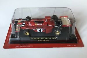 Ferrari-F1-Collection-1-43-312B3-73-Arturo-Merzario-1973-NO-Spark-Minichamps