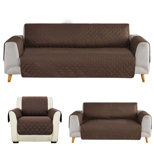 2//3//4 Seater Loveseat Sofa Cover Couch Slipcover Pet Dog Mat Furniture Protector