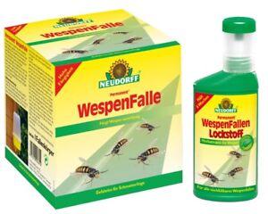 Neudorff Wespen Falle + Wespenfallen Lockstoff 250 ml Set
