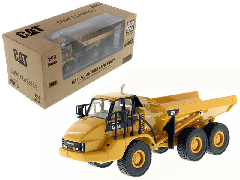 CAT Caterpillar 725 Articulated Truck with Operator 1 50 Diecast Model by Diecas