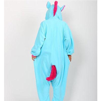 Traje Cosplay unicornio Tenma Kigurumi Pijamas Animal Unisex Onesie Ropa Dormir