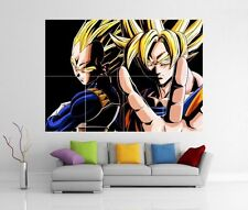 Dragon Ball Z Dragon Ball Anime Manga Arte De Pared Gigante impresión de foto Cartel H8