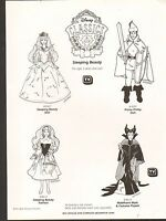 Vintage Ad Sheet 1416 - Mattel Toys - Disey Classics - Maleficent Mask