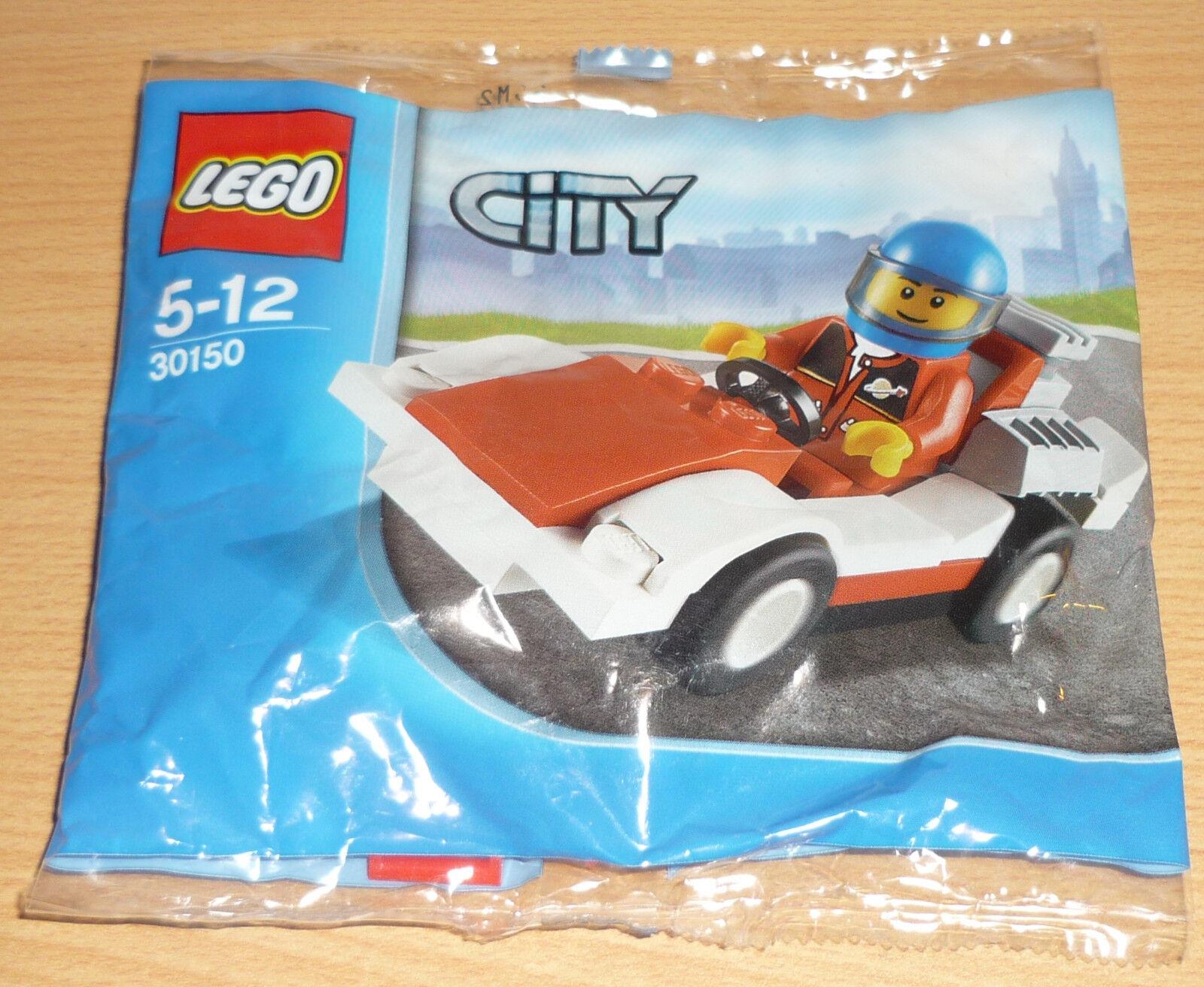 Lego City 30150 voitures de course course course (fait un nœud)   élégante Et Gracieuse  c58044