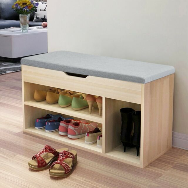 2tier Shoe Storage Rack Bench Shelf
