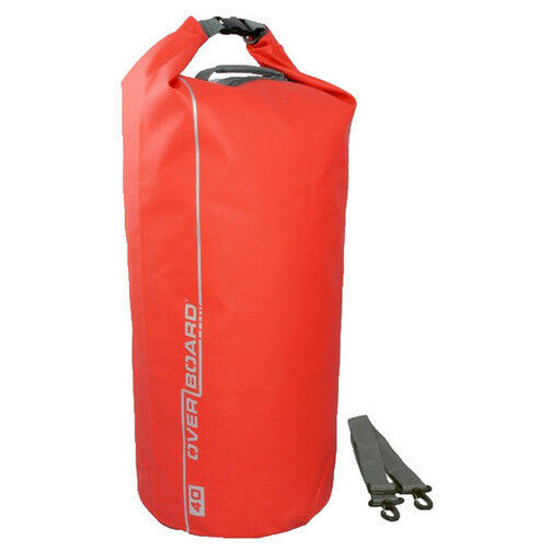 Overboard 40L Dry Tube Bag - RED