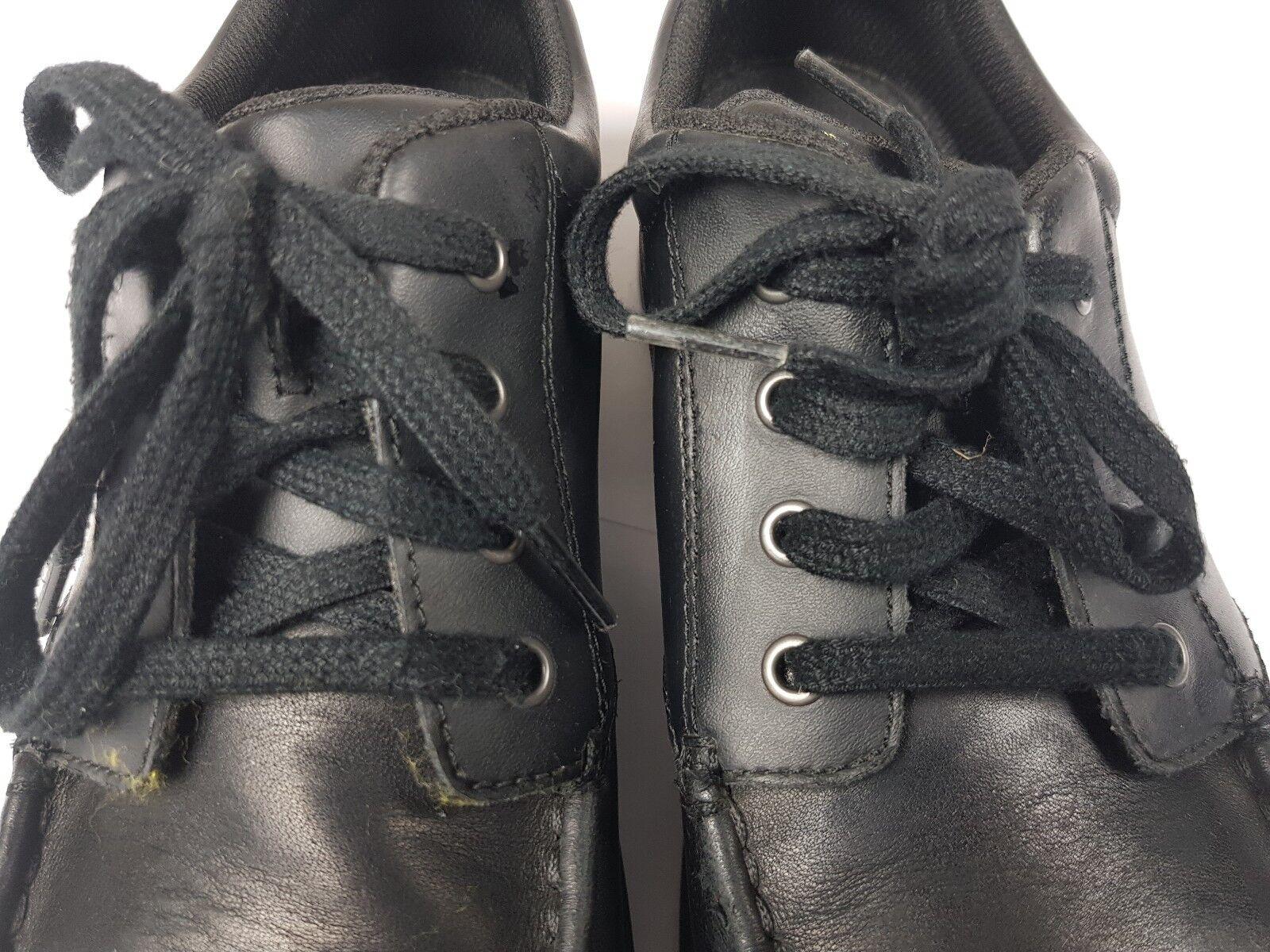 BOOTLEG Black Lace-up Mens Boys Leather Shoes - UK 7 / EU 41 Excellent Cond