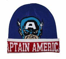 f99c4710684 item 4 Marvel Comics Captain America Soft Knit Winter Cuff Beanie Adult Hat  Licensed -Marvel Comics Captain America Soft Knit Winter Cuff Beanie Adult  Hat ...