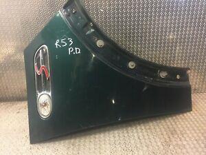 Ala-Delantero-Mini-Cooper-R53-R52-R50-Derecho-O-S-F-cuarto-Fender-Panel-en-verde