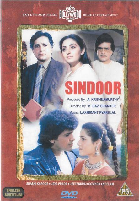 Sindoor DVD Sashi Kapoor Jaya Prada Jeetendra Govinda Neelam