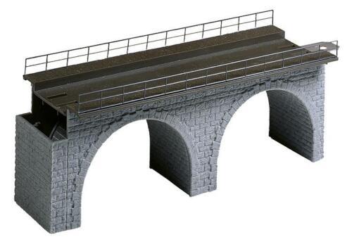 puente precisamente longitud 188mm ancho 71mm de altura 65mm nuevo /& OVP Faller 120477 viaducto