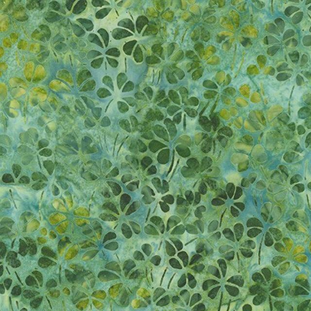 Robert Kaufman Batik Fabric, AMD-19395-270 MEADOW, By The Half Yard, Quilting