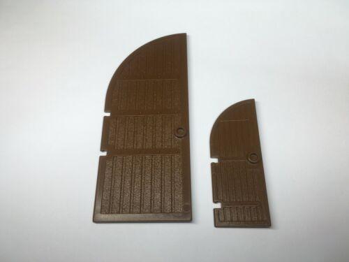 LEGO 2554 2400 Brown Door 1 x 3 x 6  1 x 5 x 10 Curved Top Choose Model