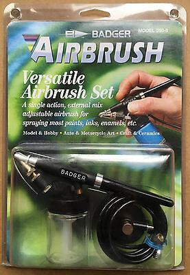 Badger BA3509 Airbrush Versatile Spray Set NIB