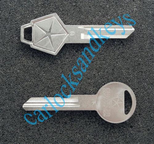NEW 1978-1979 Dodge Magnum Key Blanks Blank