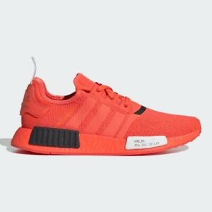 Adidas-NMD-R1-Solar-Red-Casual-Lifestyle-Sneakers-Shoes-EF4267-NEW-Men-s-10-5
