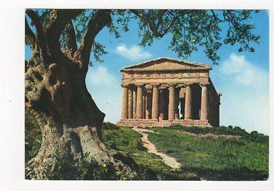 Agrigento Tempio della Concordia 1969 Postcard Italy 554a