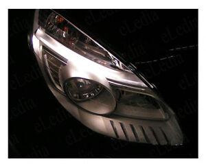 SCENIC-2-Veilleuses-Feux-de-Position-2-Ampoules-LED-Blanc-Jusqu-039-a-08-2006