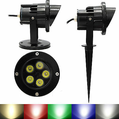 LED Landscape Garden Wall Yard Path Lawn Pond Flood Spot Light Outdoor IP65