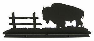 Buffalo-Bison-Mailbox-Topper-Decor