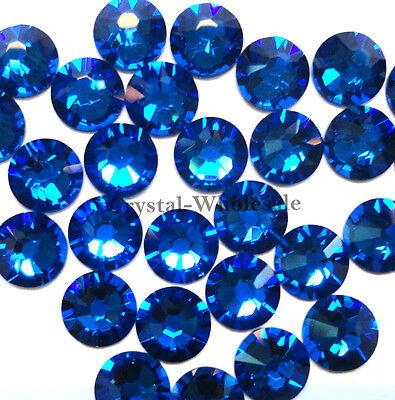 144 Swarovski 2058 5ss crystal flatbacks rhinestones 1.8mm ss5 CAPRI BLUE (243)