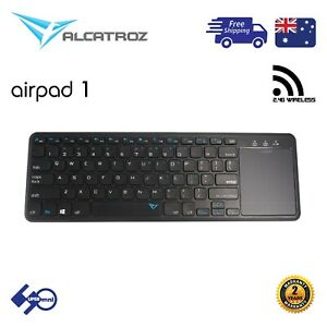 Wireless-Keyboard-ALCATROZ-AIRPAD-1-with-Touchpad-for-Smart-TV-Tablet-Laptop