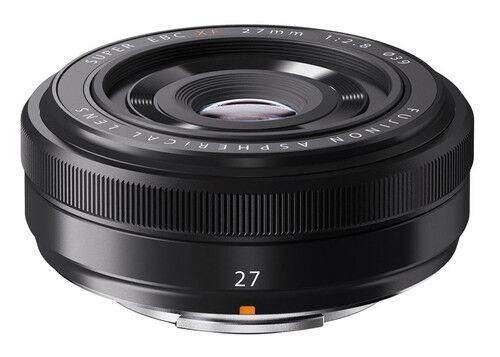 New Fujifilm XF 27mm F2.8 - Black