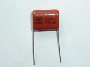10Pcs 400V 684J pitch 15MM 0.68UF 680nf CBB Polypropylene film capacitor