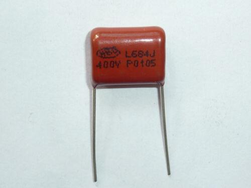 5pcs 400V 684 J 0.68uf 680nf 680000pf P15 CBB21 CBB metal film capacitor