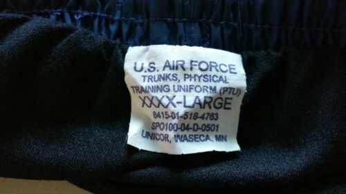 NEW US Air Force PTU Shorts NEW Marked 4X but fit like 2X