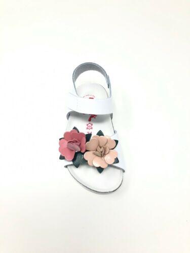 Sandalo da bambina bio made in italy in pelle con plantare BioNatura 1019I