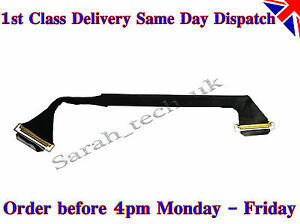 """New Apple Macbook Pro A1286 15"""" LCD LED Screen Cable MB470 MB471 2008 2009 2010"""