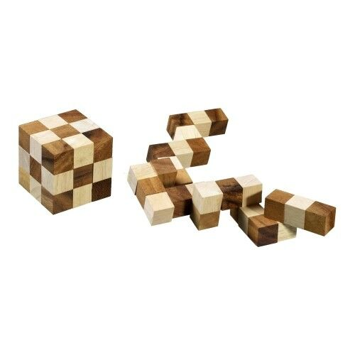Snake Cube - Medium - Brain spel - Pussel - Pussel