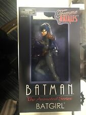 "BATMAN Animated Series 9"" Femme Fatales BATGIRL  Statue, FREE SHIPPING"
