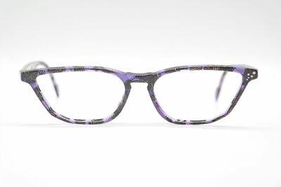 Bello Vintage Rodenstock 7041 52 [] 20 135 Lilla Oro Nero Ovale Occhiali Eyeglasses Nos-