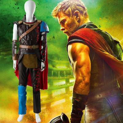 The Avengers Thor 3 Ragnarok Cosplay Arena Gladiator Costume Battle Suit Outfit