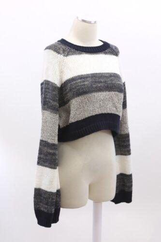 Colorblock Sequin A186 Brunello Stripet Chunky Beskåret 1495 Cucinelli Strik M Nwt ZIXxqw61Bn