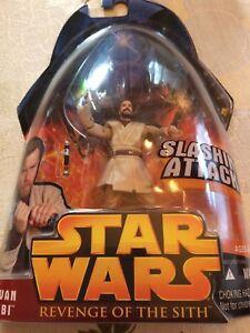 Obi-Wan Kenobi Figure Hasbro Star Wars Revenge of the Sith New Sealed