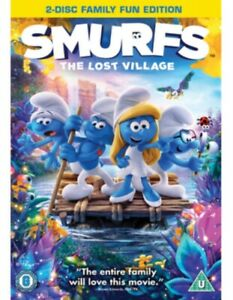 Nuovo The Smurfs 3 - The Lost Village DVD (CDR1401SE)