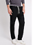 Mens M/&S Collection Regular Fit Pure Cotton Black Navy Pull On Trousers