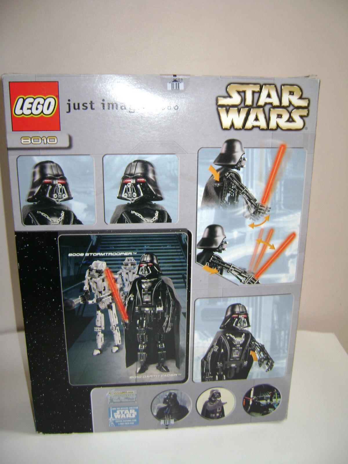NEW LEGO STAR WARS WARS STAR 8010 RETIROT 2002 COMPLETE RARE DARTH VADER SEALED IN BOX 1e13f9